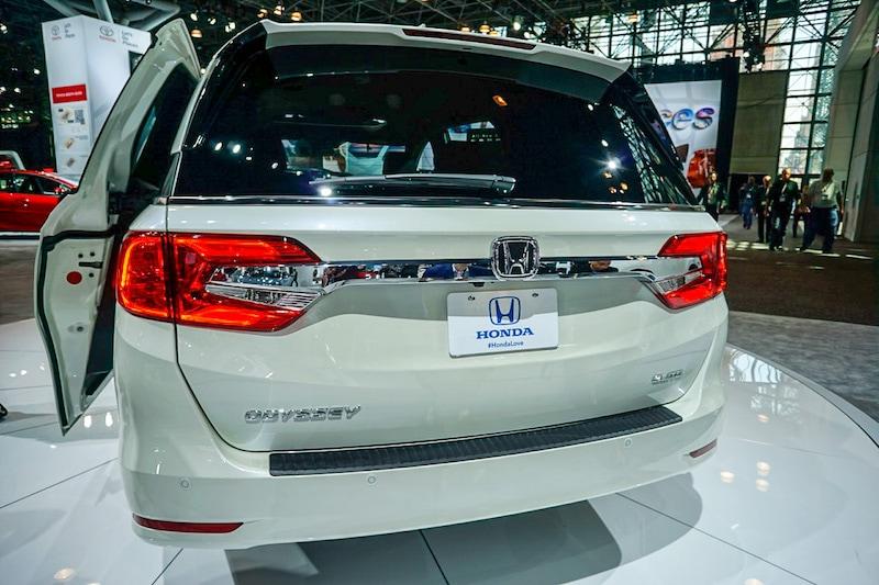 Honda Odyssey rea