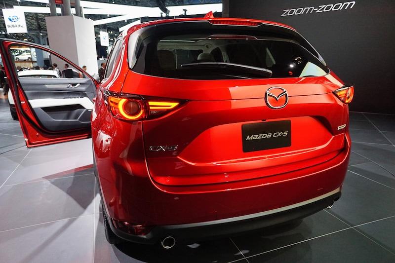 Mazda CX5 rear