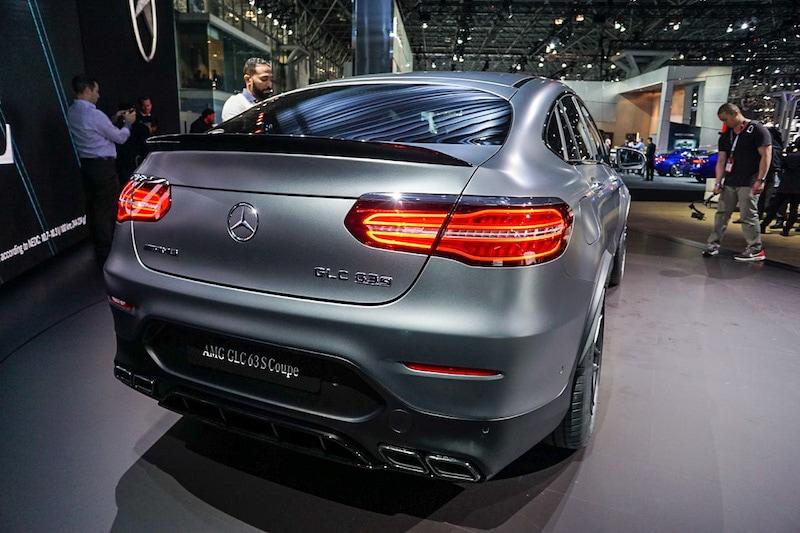 Mercedes GLC rear
