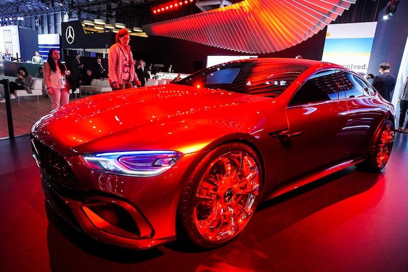 Mercedes concept front