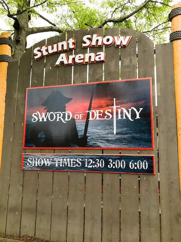 Six Flags Sword of Destiny