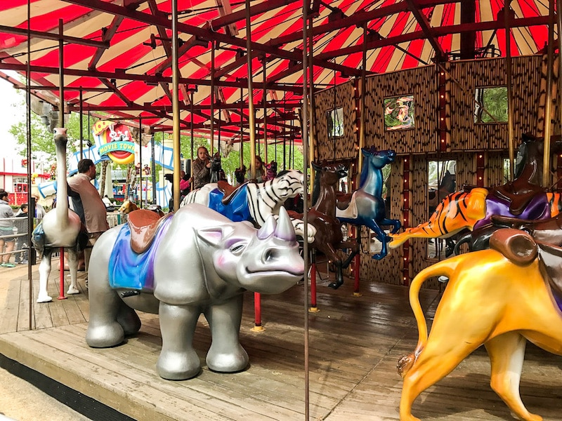 Six Flags carousel