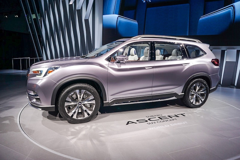 Subaru Ascent side