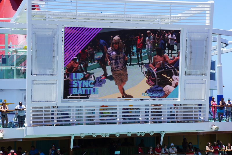 Lip Sync Battle Auditions - Carnival Vista
