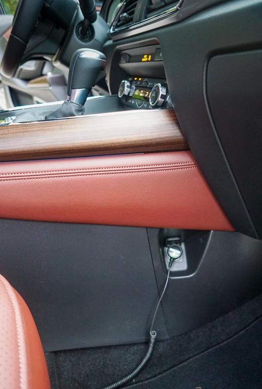 Mazda CX-9 12V port