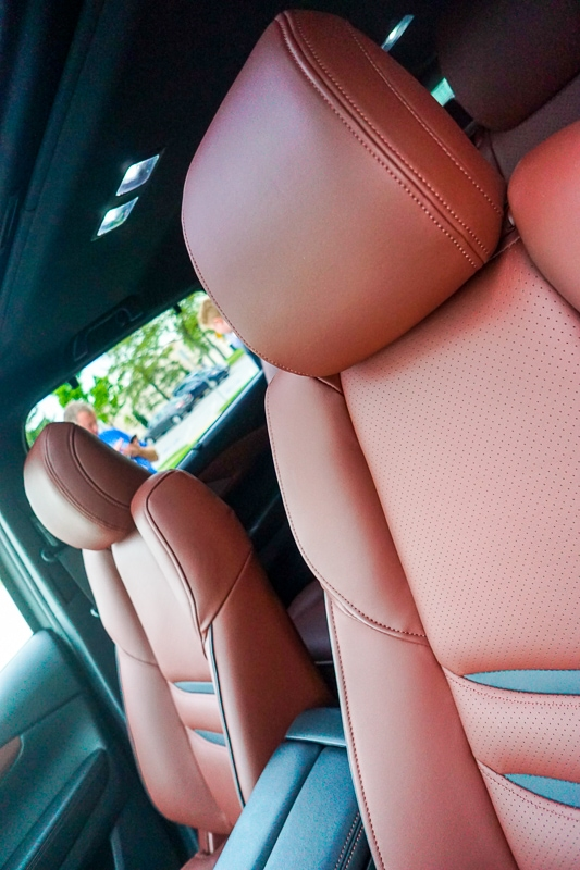 Nappa leather - Mazda CX-9