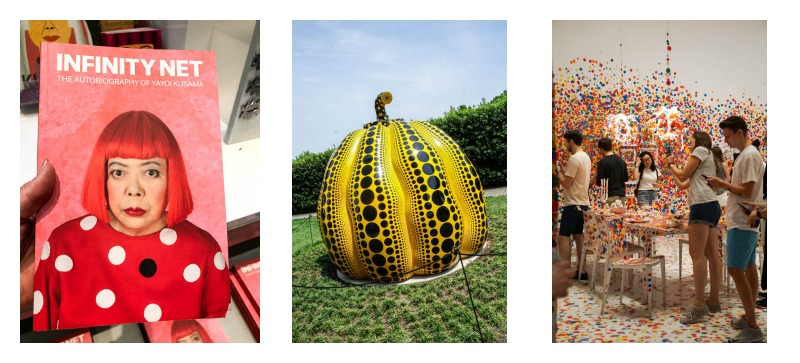 Yayoi Kusama exhibit at Hirshhorn