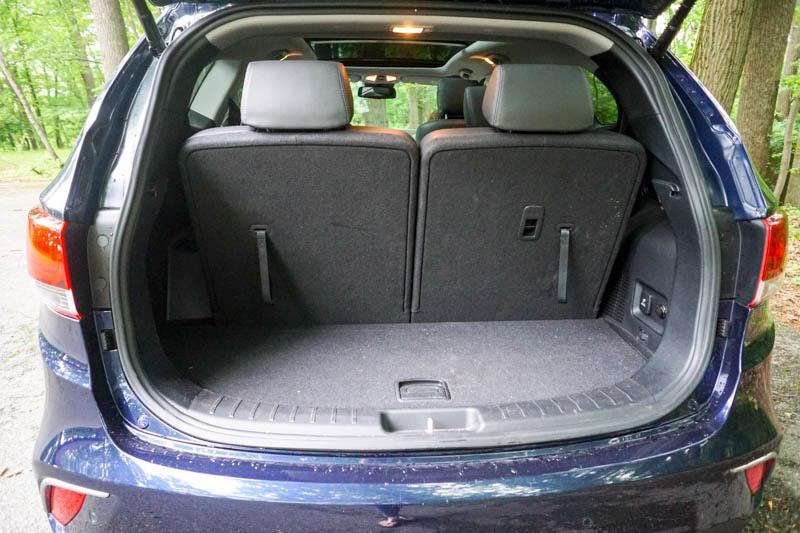 Hyundai Santa Fe - cargo space