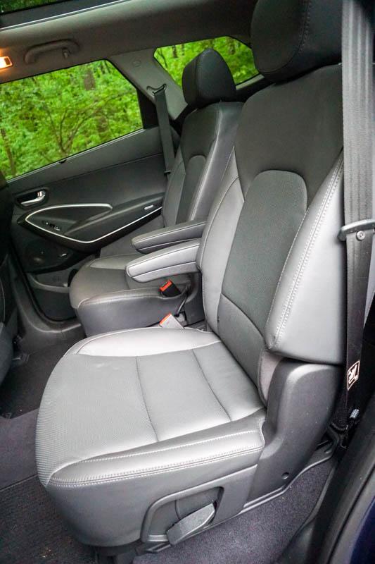 Hyundai Santa Fe - second row