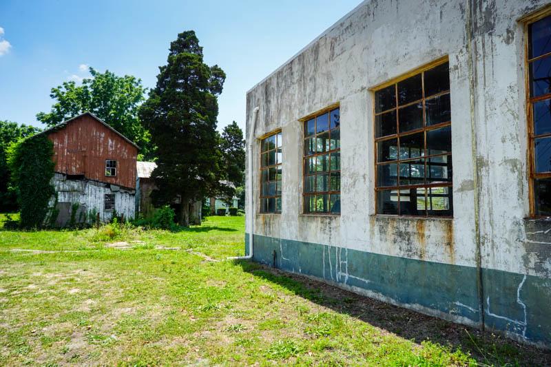 Old barn in Shiloh