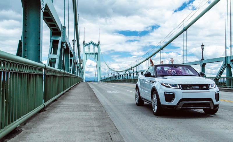 Range Rover Evoque convertible - Heels & Wheels