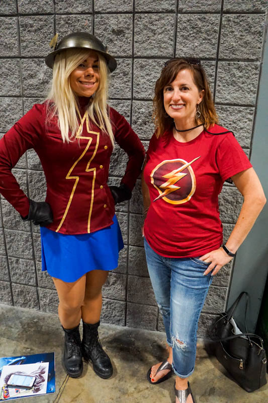 The Flash fans - Awesome Con