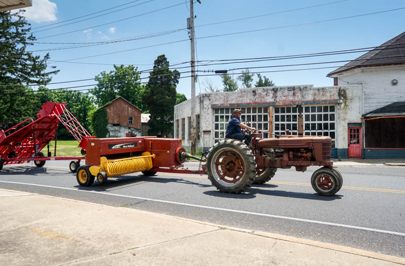 Tractor in Shiloh