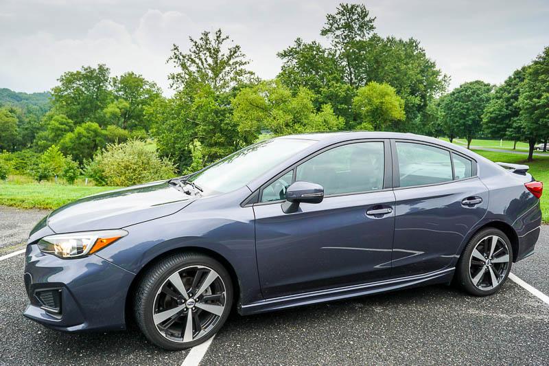 2017 Subaru Impreza exterior front