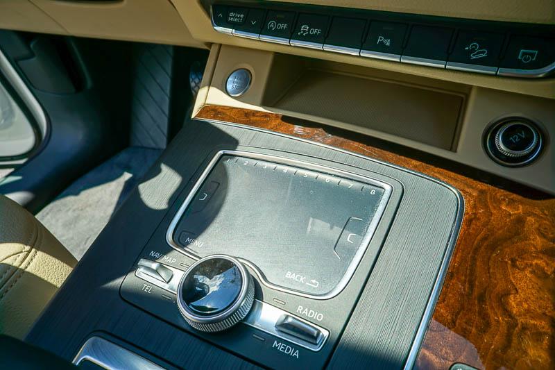 Audi Q5 - MMI signature pad