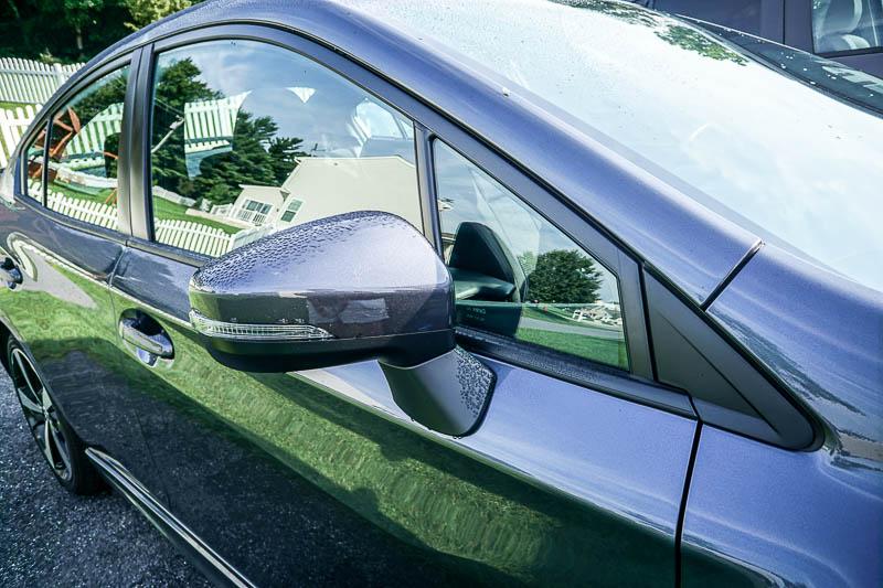 Extra visibility in 2017 Subaru Impreza