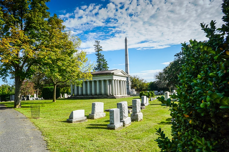 Mt Hebron cemetery in Winchester