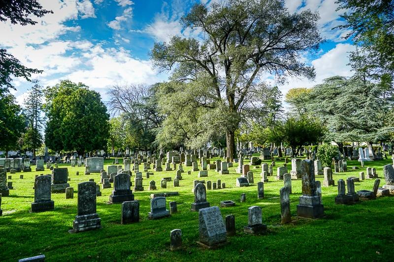 Mt Hebron cemetery in Winchester