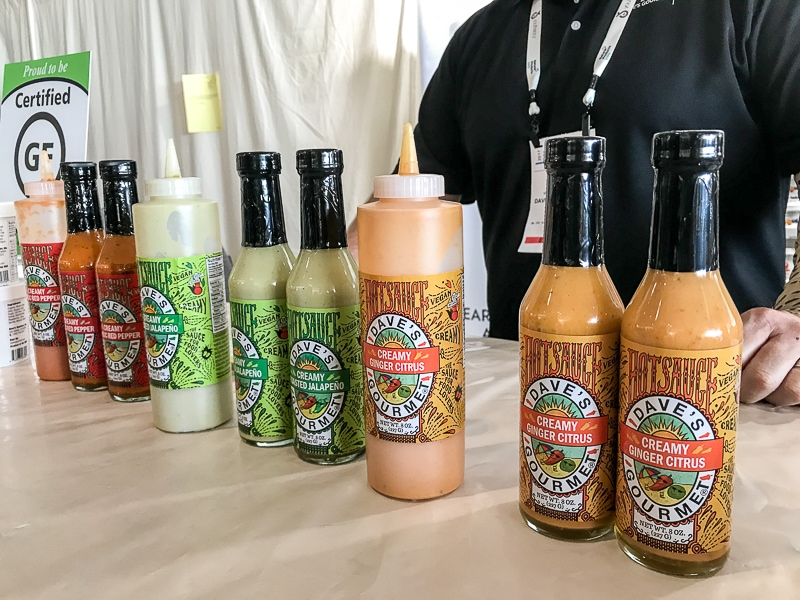 Dave's Gourmet creamy hot sauces