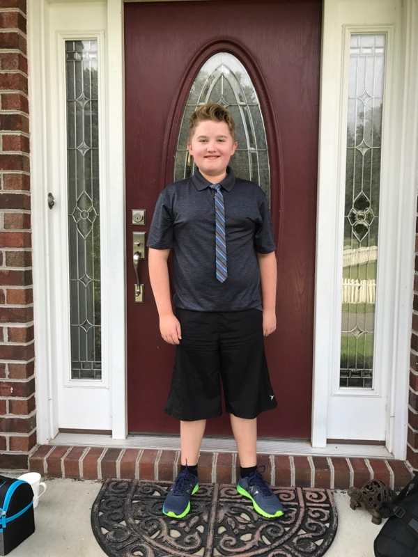 First day of 5th grade