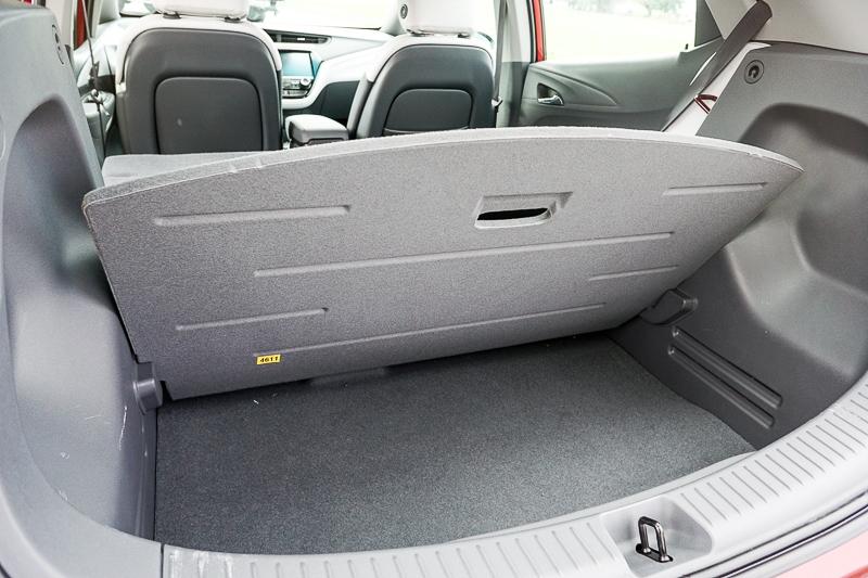 Chevy Bolt - hidden cargo space