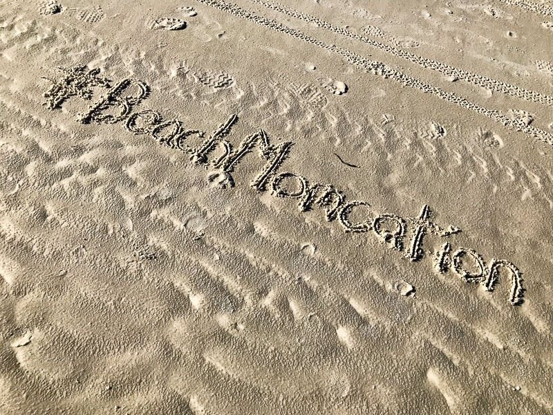 Beach Momcation
