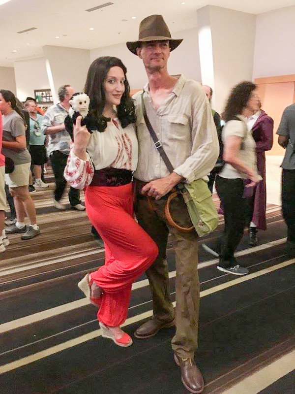 Marion and Indy costumes