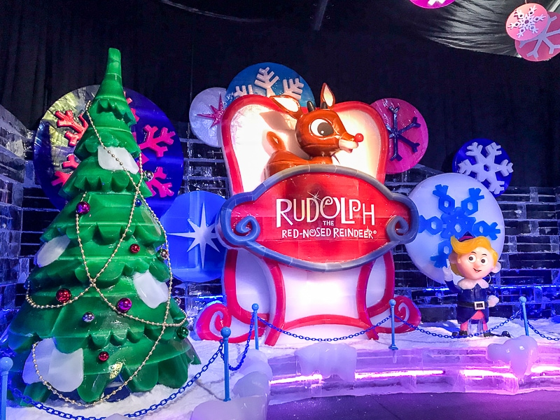 Rudolph at ICE!