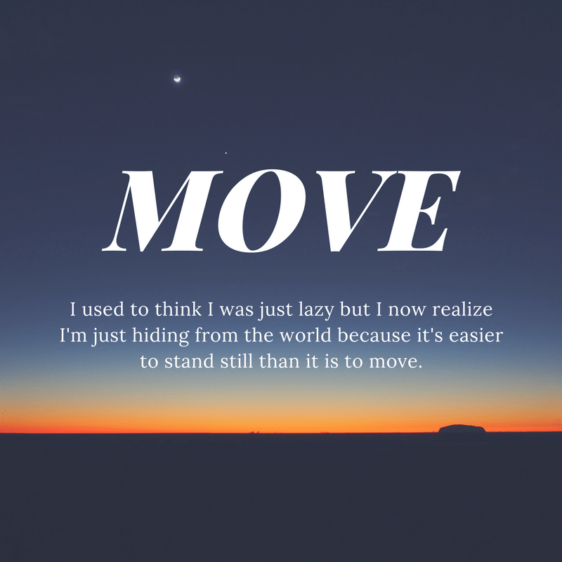 MOVE - word for 2018