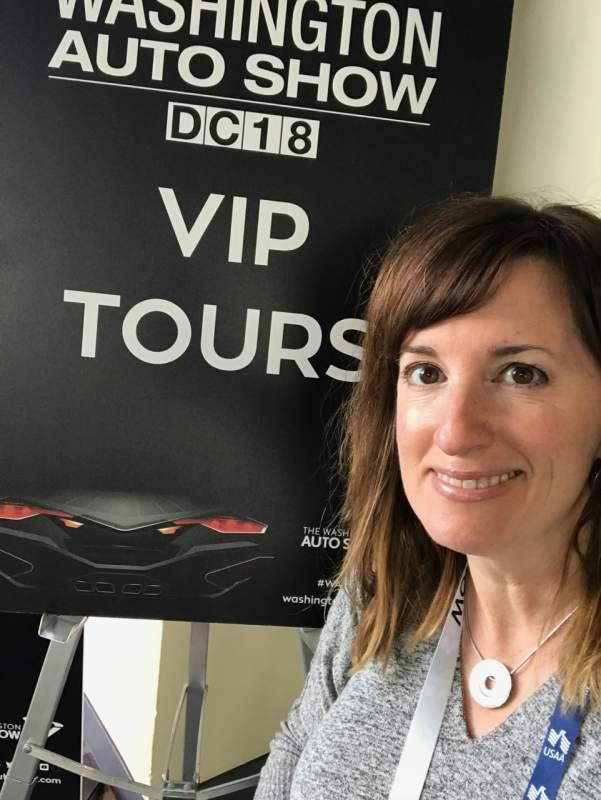 Fadra Nally - VIP Tour Guide for the Washington Auto Show