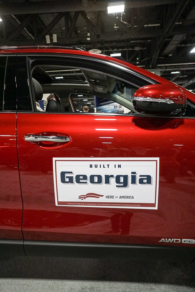 Kia Built in Georgia - Washington Auto Show