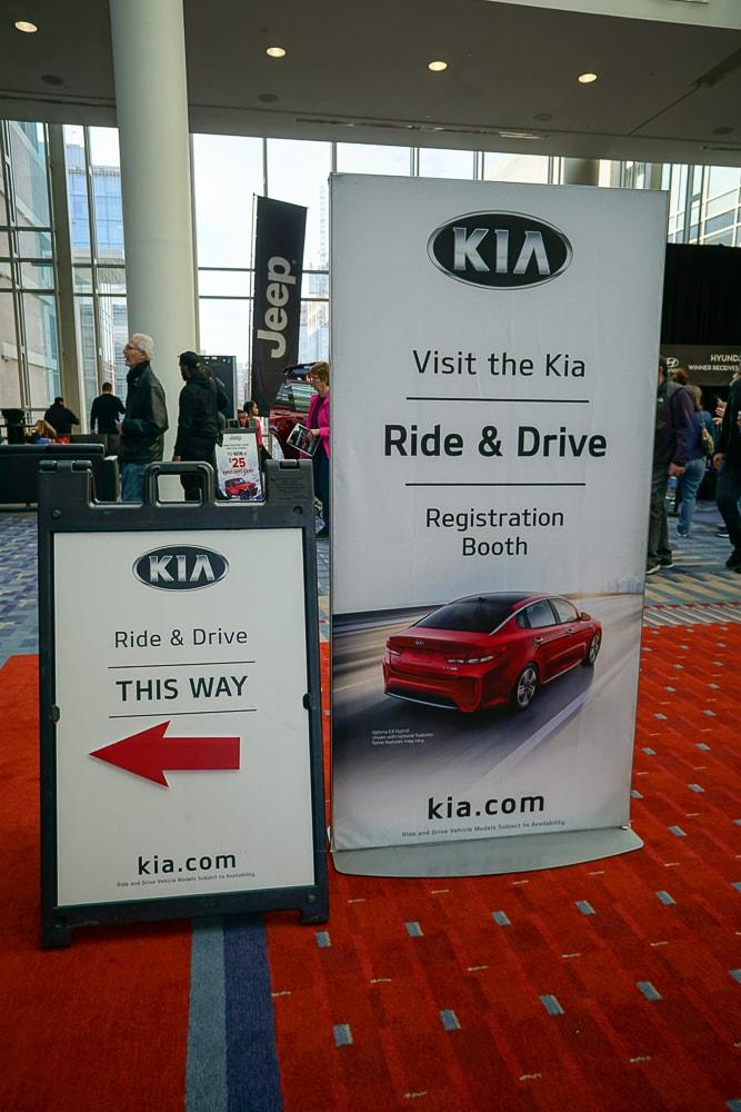 Kia Ride & Drive - Washington Auto Show
