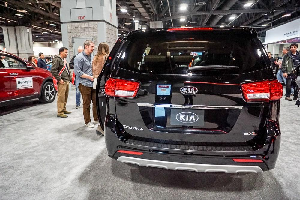 Kia Sedona - Washington Auto Show
