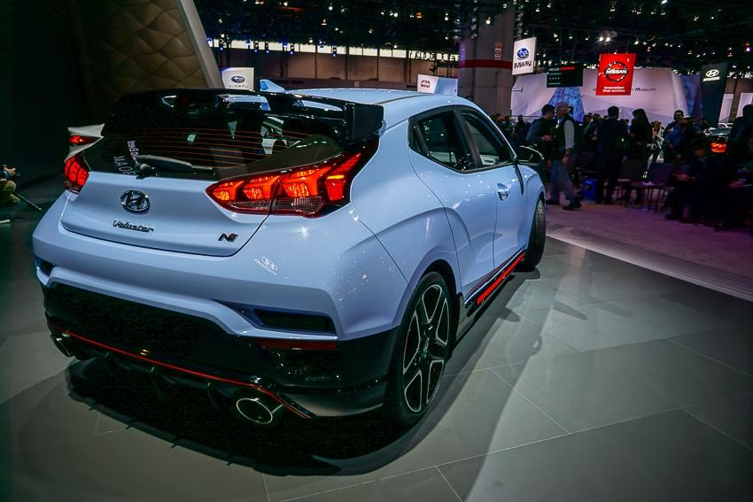 Auto Shows-Hyundai Veloster N