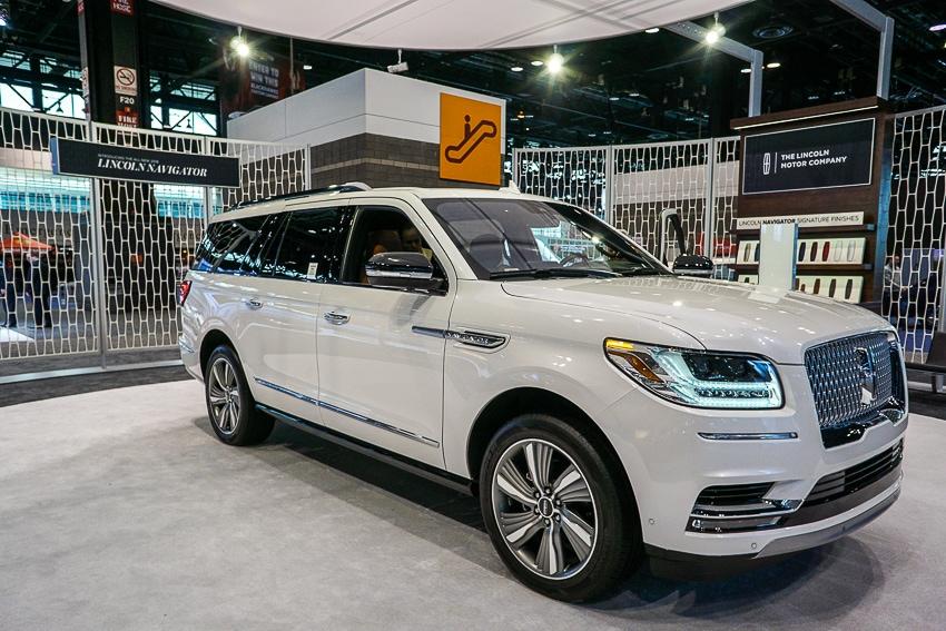 Auto Shows-Lincoln Navigator