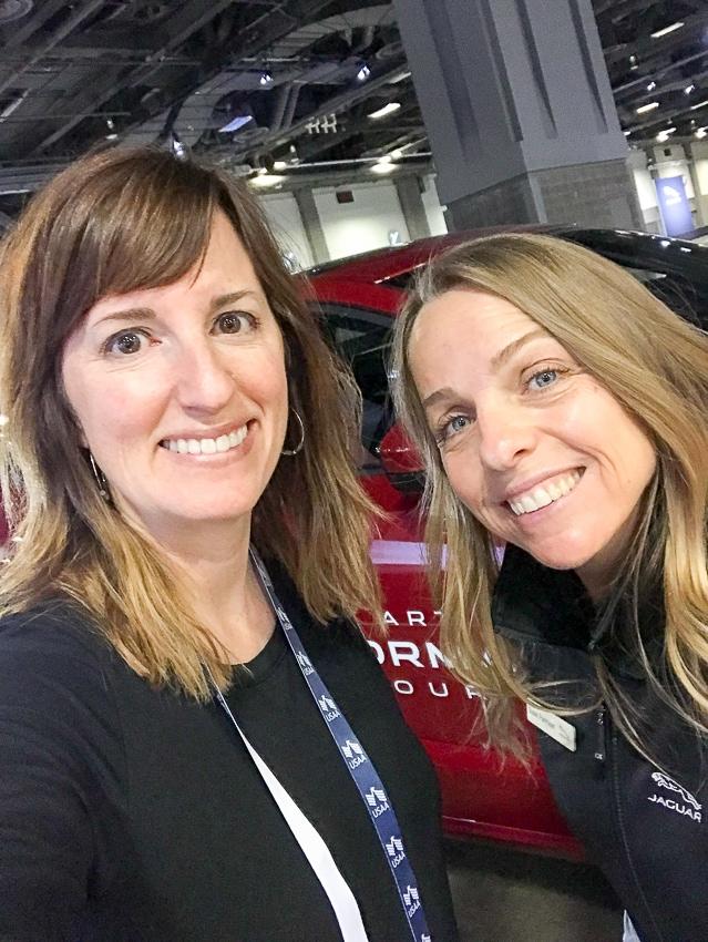 Auto Shows-Performance driving with Jaguar