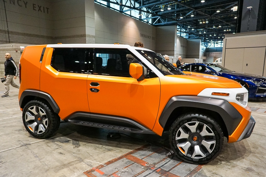 Auto Shows-Toyota FT-AC