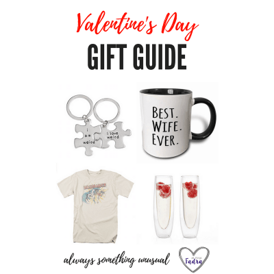 Out of the Ordinary Valentine's Day Gifts (FINALLY!)
