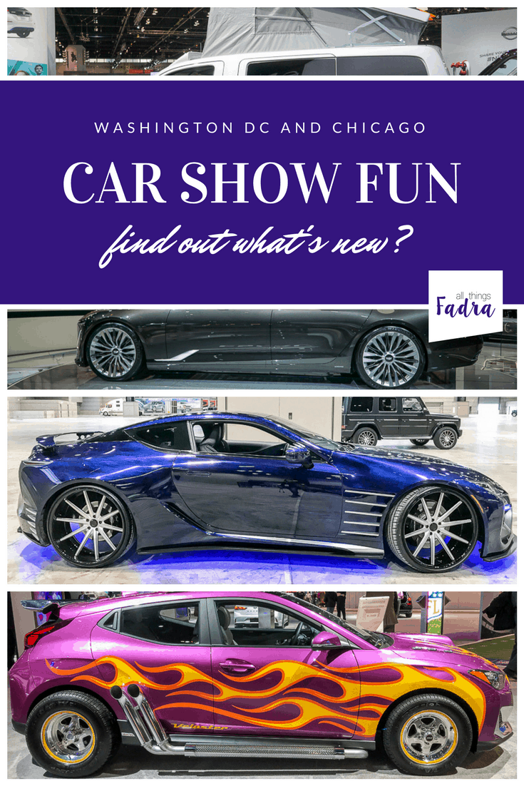 What's New at Car Shows