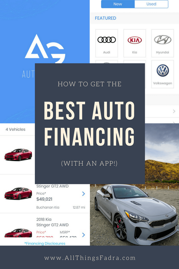 Best Auto Financing (with an app!)