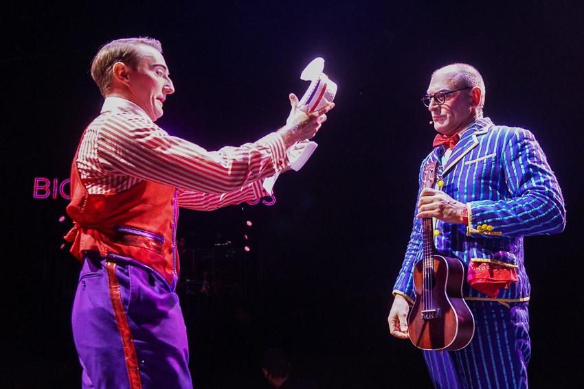 Clowns at Big Apple Circus