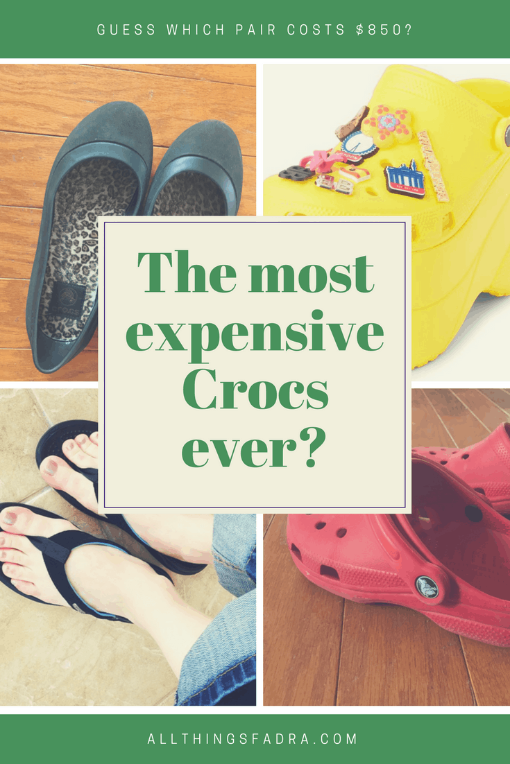 Most Expensive Crocs ever