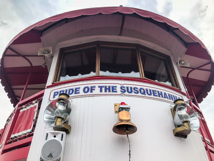 Pride of Susquehanna Riverboat