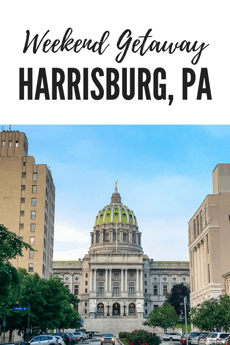 Whether you love good food or family attractions, here's an fun family itinerary for a weekend getaway in Harrisburg, PA.