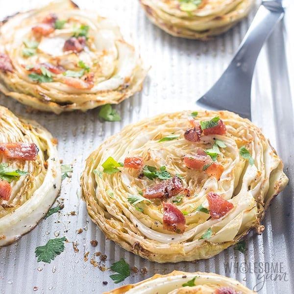 Grilled Cabbage Steaks