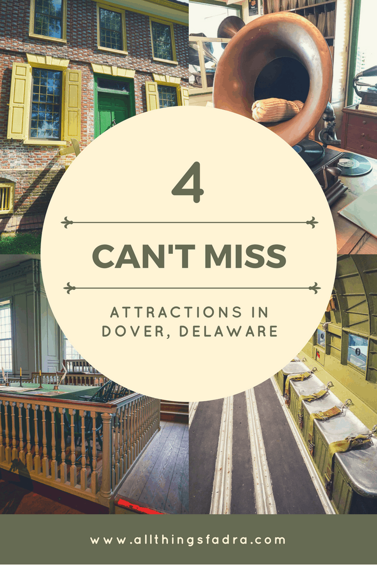 Delaware is a small state bursting with history. Dover, Delaware makes a perfect family day trip or weekend getaway with these 4 can't-miss attractions.