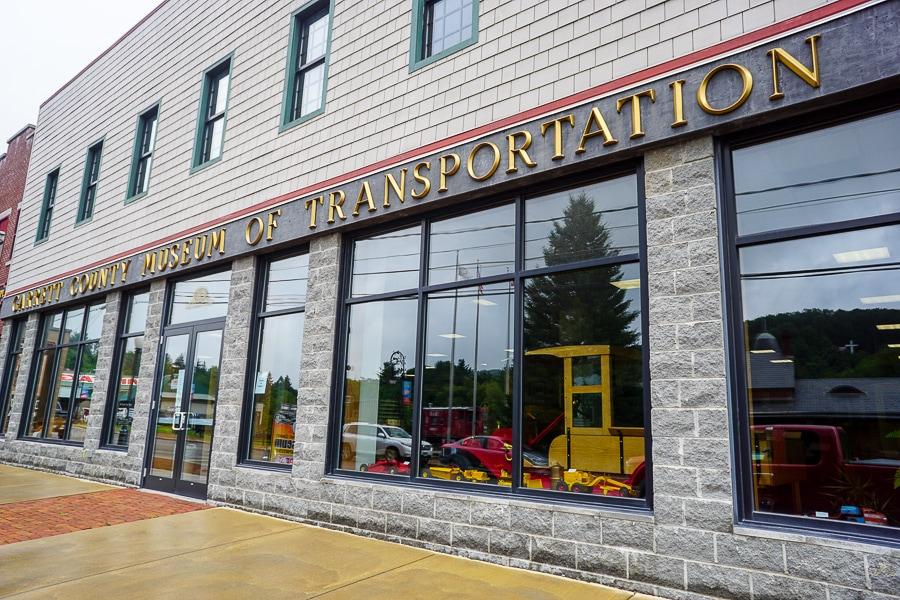 Transportation museum in Oakland