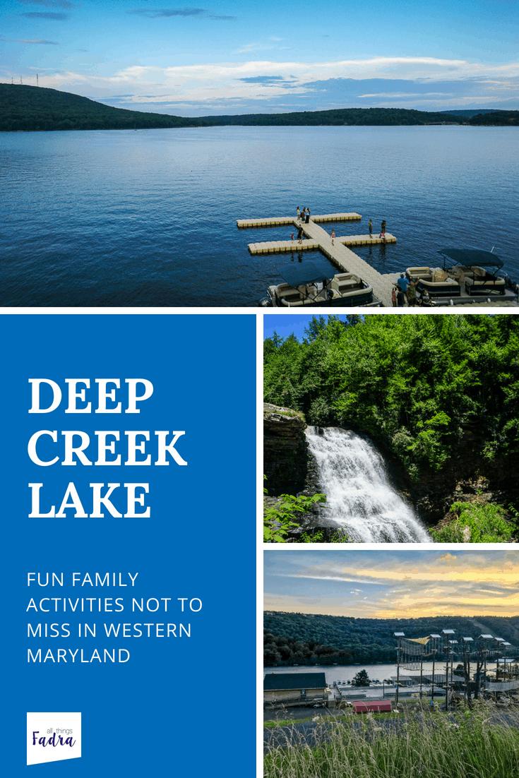 Family Activities in Deep Creek Lake