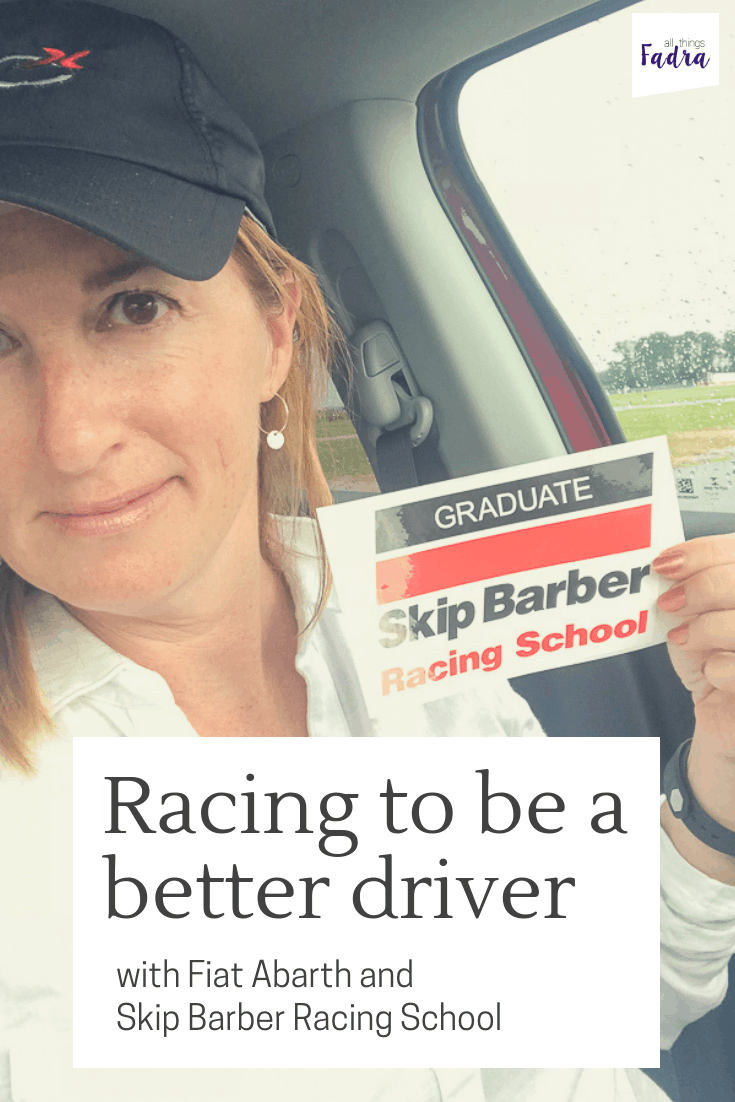 Looking to up your driving game? I spent the day with Fiat Abarth and the Skip Barber Racing School and finished up feeling like a beast!
