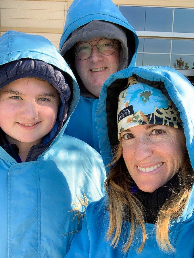 Blue Parka at ICE!